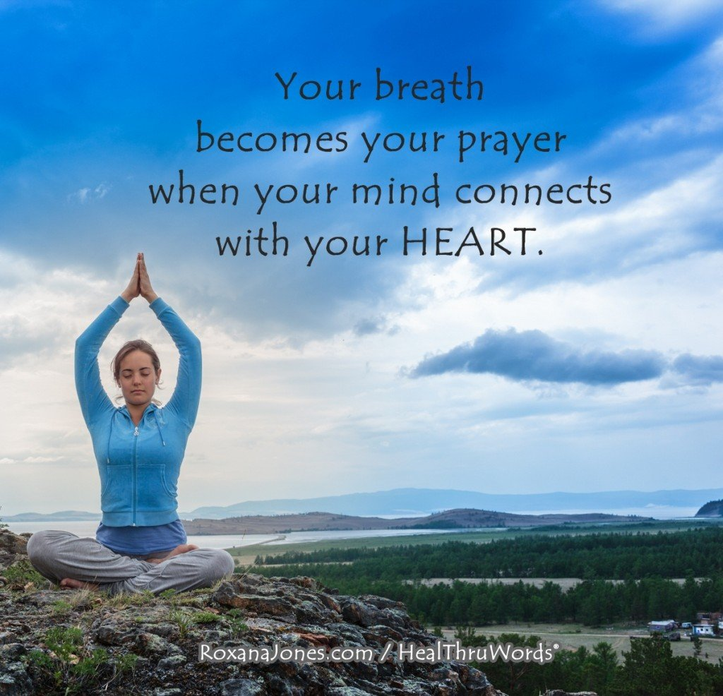 Motivational Picture - Breath is Prayer