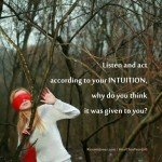 Inspirational Quote - Expand your Intuition