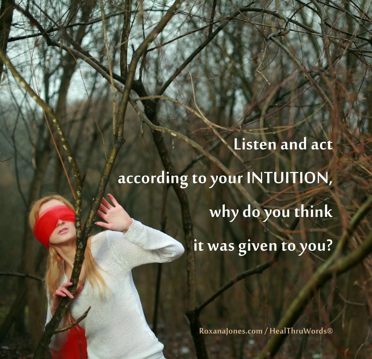 Inspirational Image: Expand your Intuition