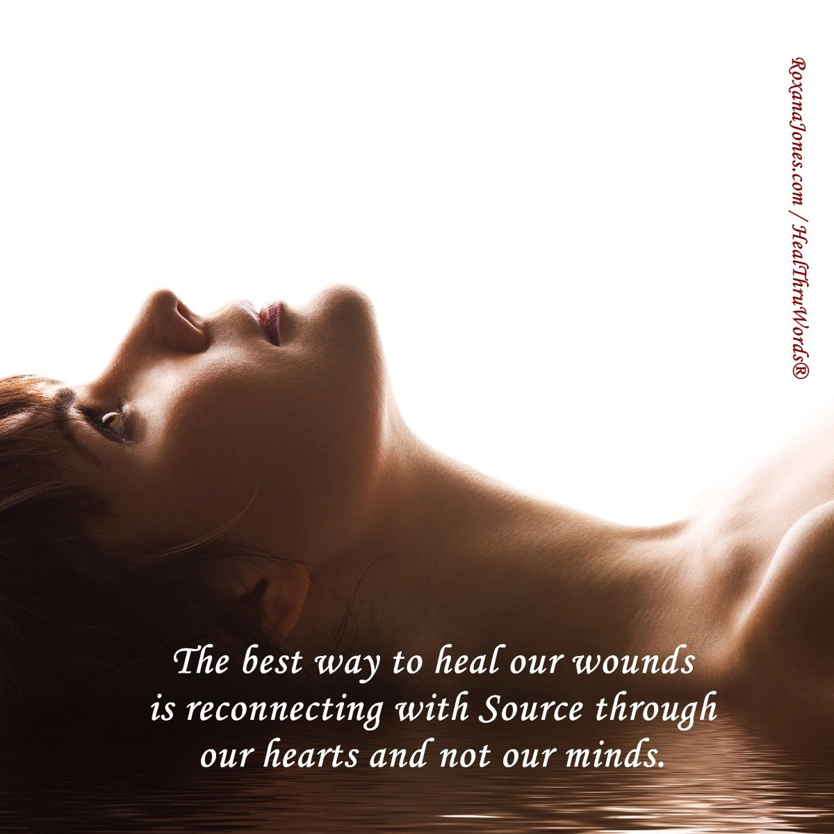 Inspirational Image: Healing our Wounds