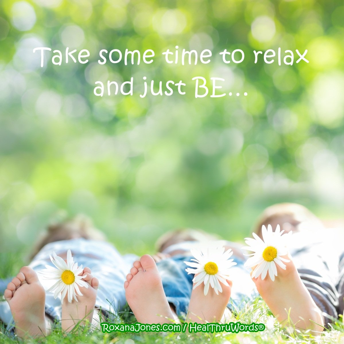 Inspirational Image: It's Time to Relax