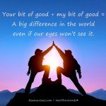 Little is Big by Roxana Jones - Inspirational Pictures