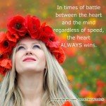 The Heart Wins by Roxana Jones - Inspirational Pictures