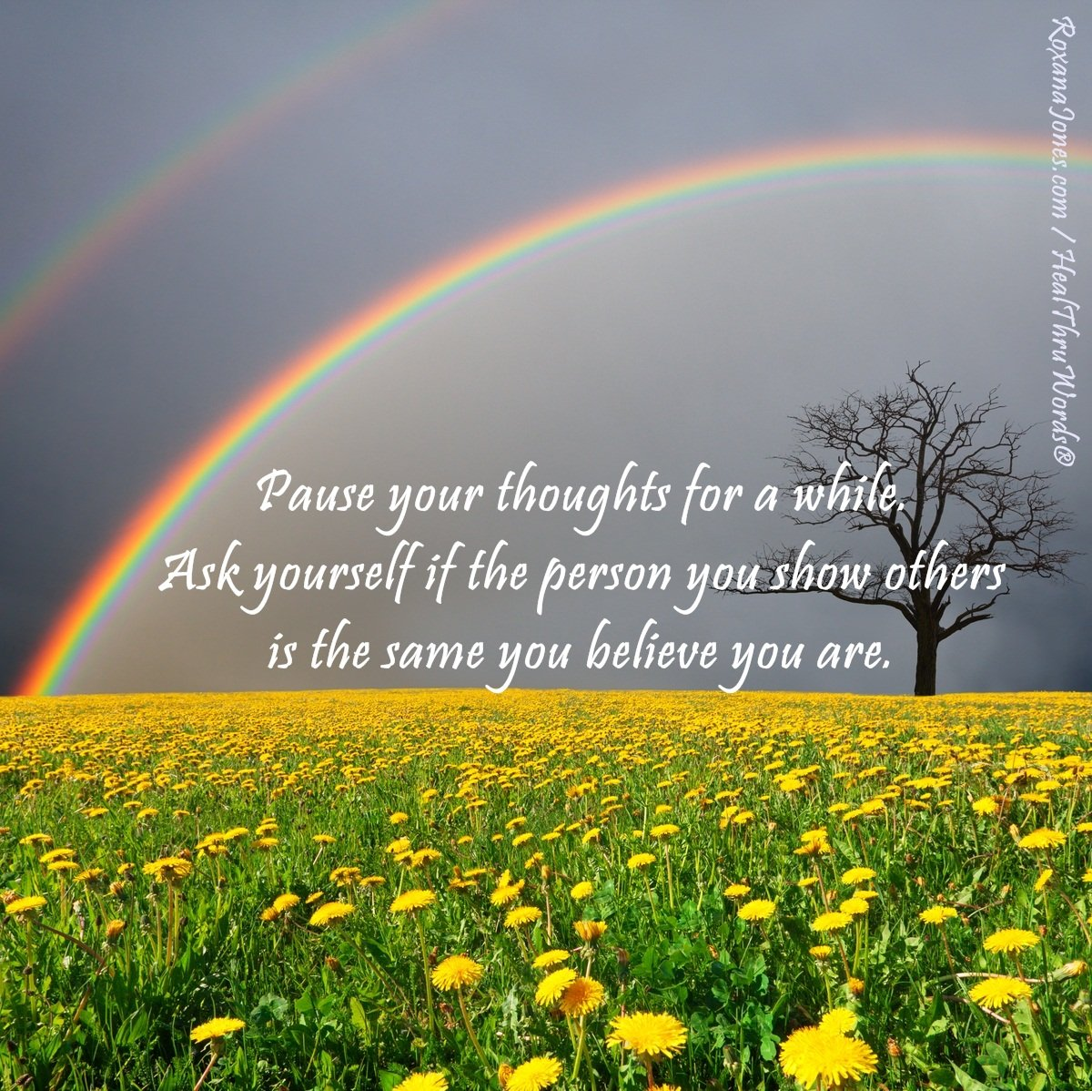 Inspirational Image: Who are You?