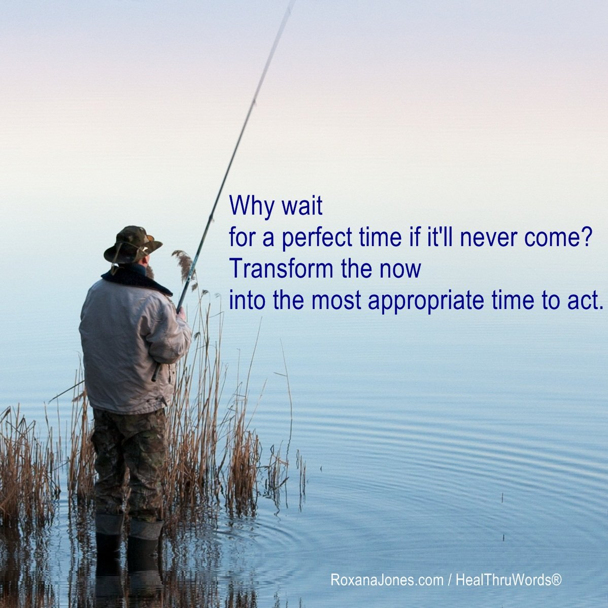Inspirational Image: Waiting in Vain