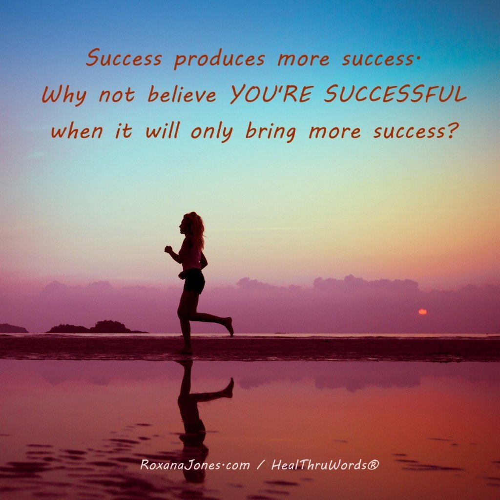 Inspirational Image - Successful You