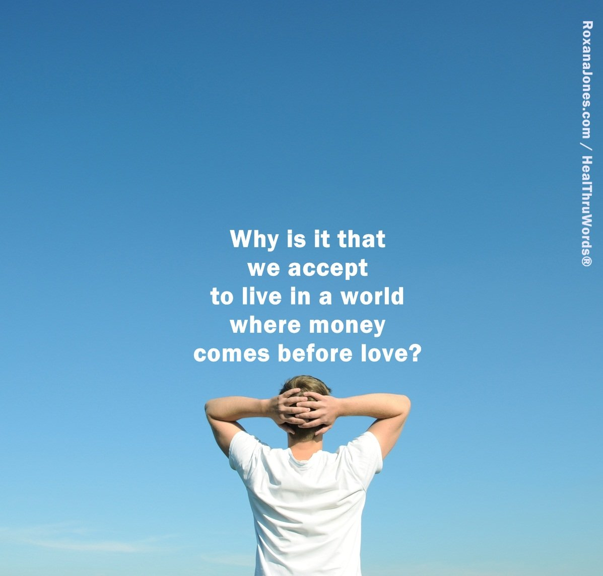 Inspirational Image: Love and Money