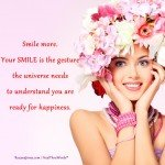 Motivational Picture - Smile to the Universe