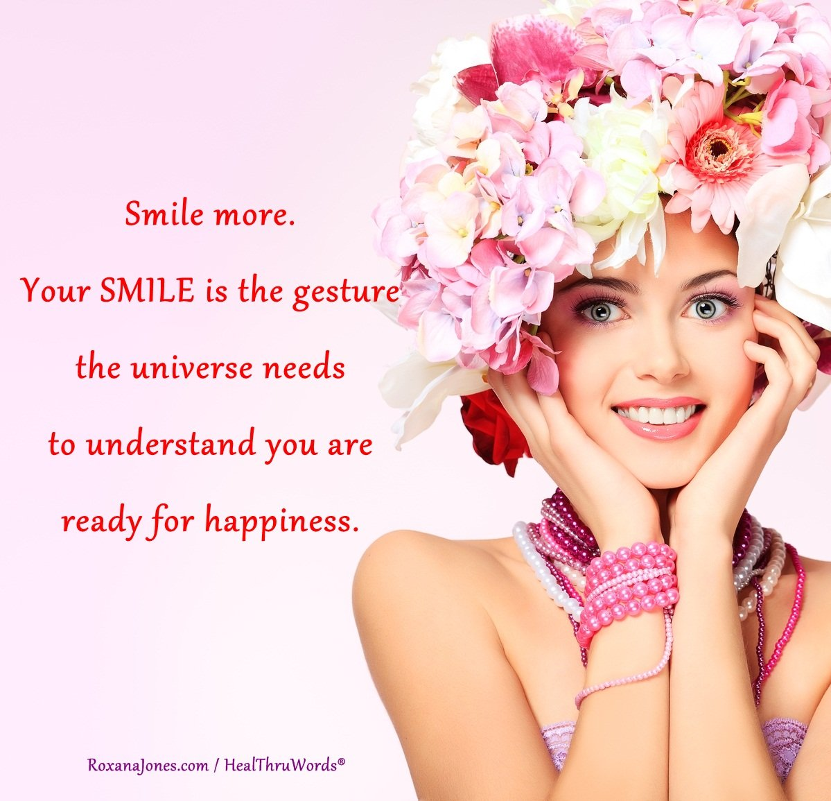 Inspirational Image: Smile to the Universe
