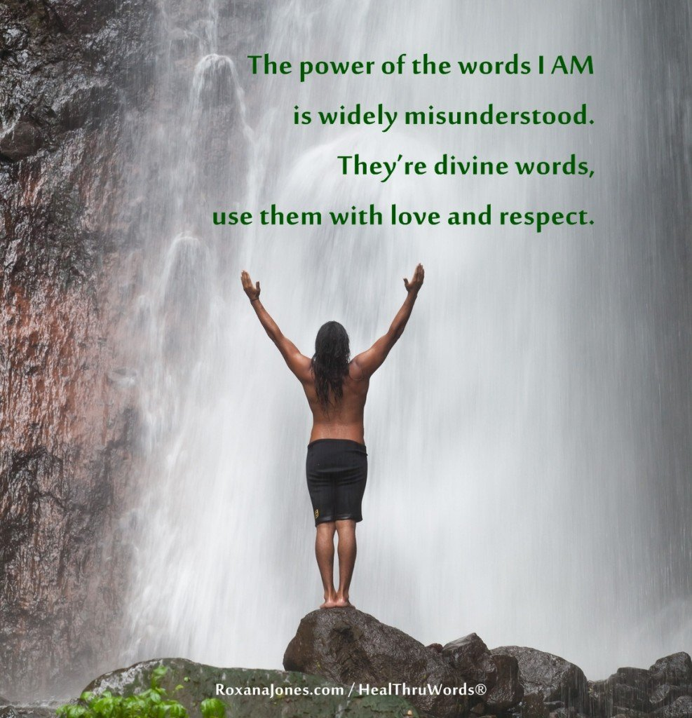 Motivational Quote - The Power in I AM