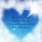 The Heart is God by Roxana Jones - Inspirational Pictures