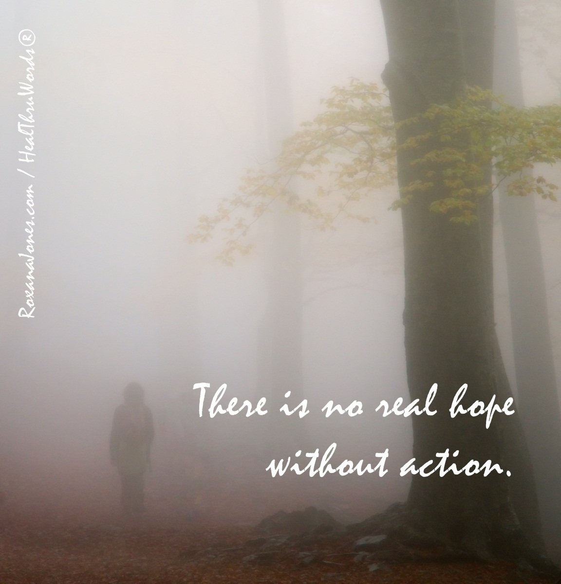 Inspirational Image: Hope and Action