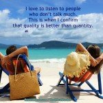 Motivational Picture - Listen to Quality