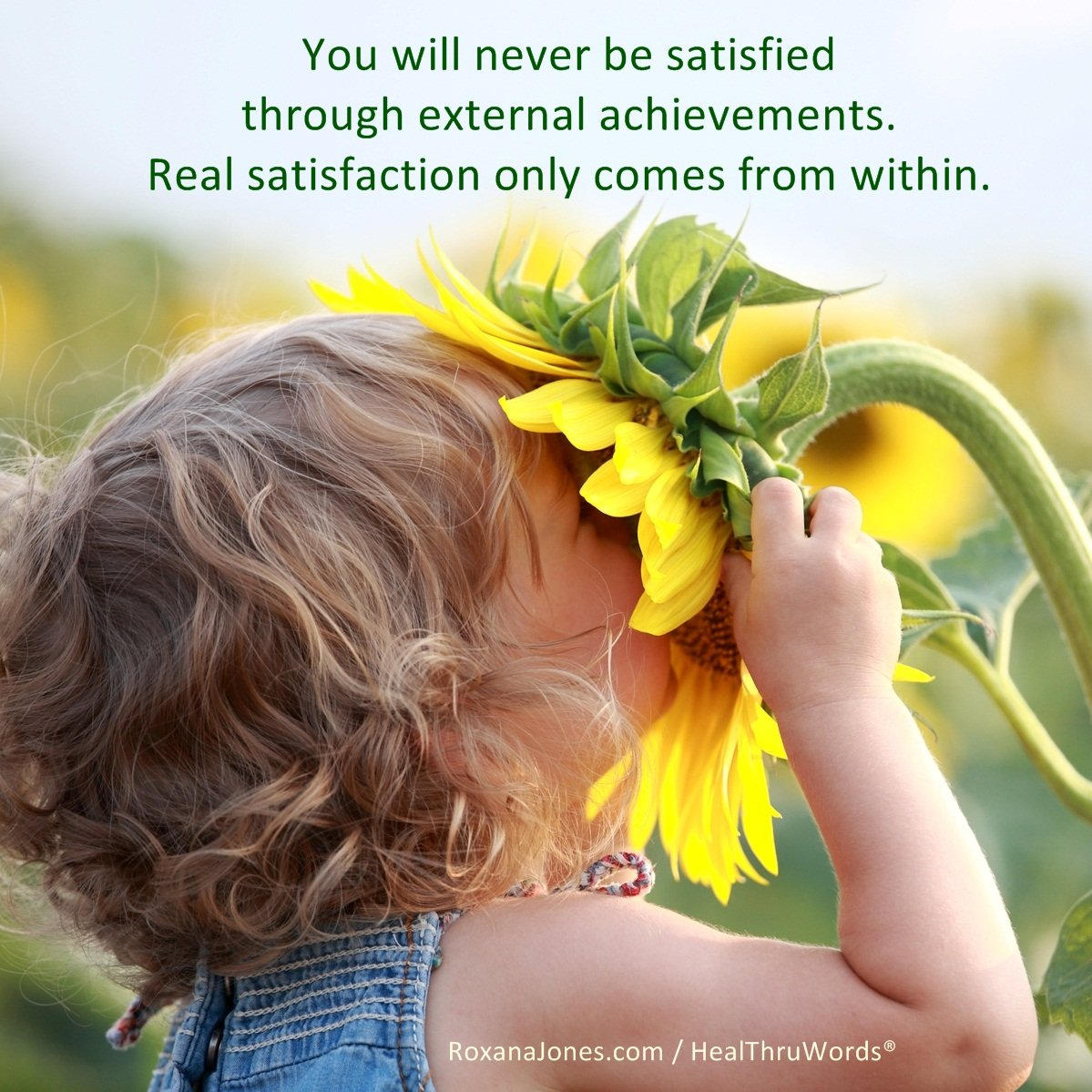 Inspirational Image: Total Satisfaction