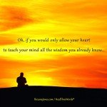 Your Wise Heart by Roxana Jones - Inspirational Pictures