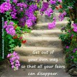 Fearless Way by Roxana Jones - Inspirational Pictures
