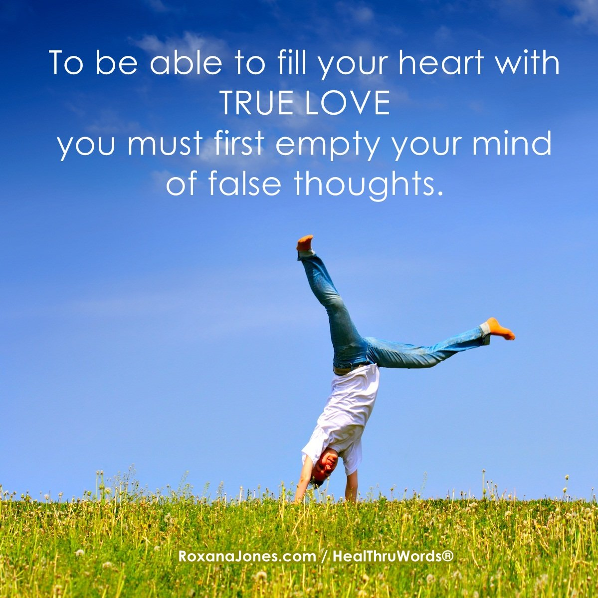 goodbye false thoughts inspirational pictures
