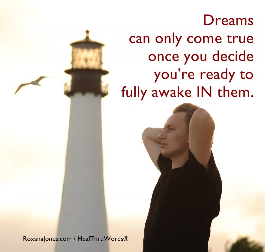 Inspirational Image - In your Dreams