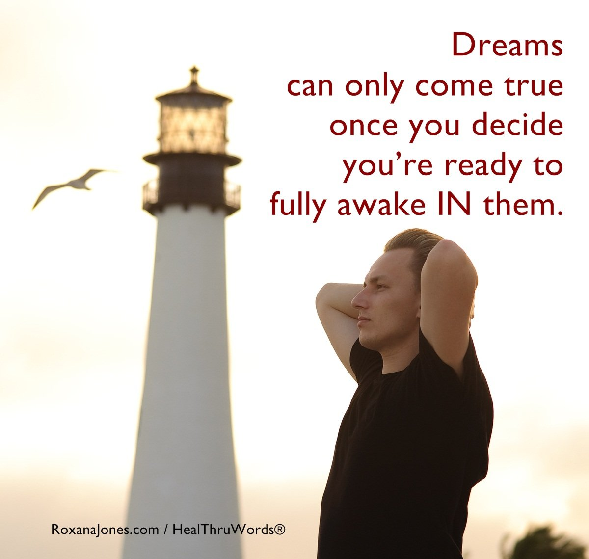 Inspirational Image: In your Dreams