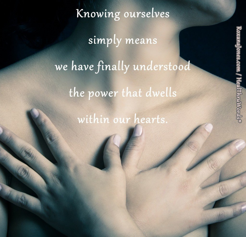 Inspirational Picture - Knowing Ourselves