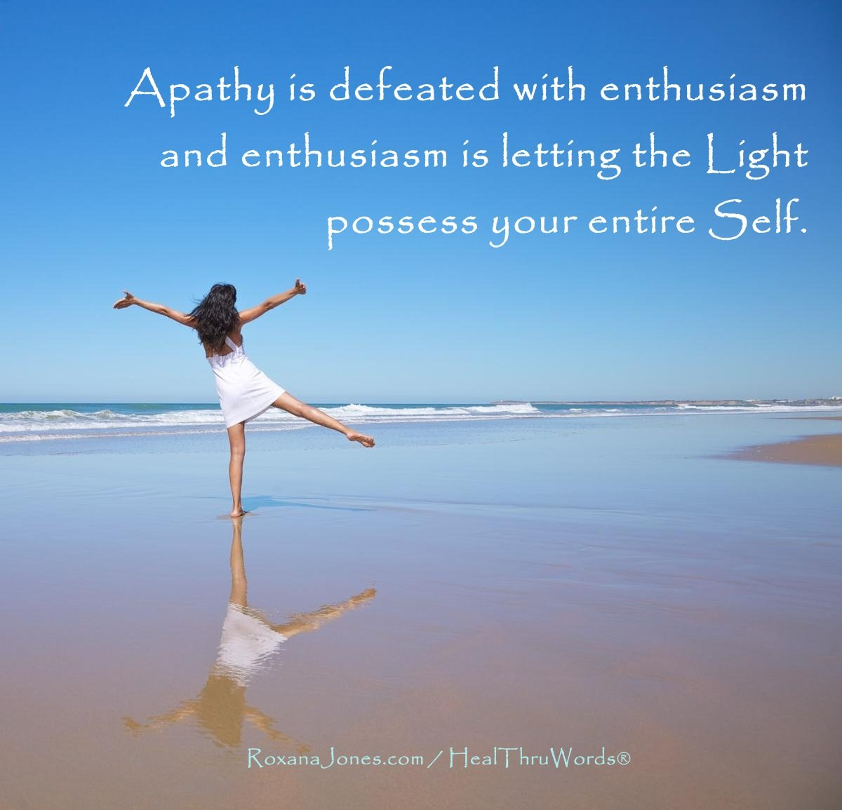 Inspirational Image: Light replaces Apathy