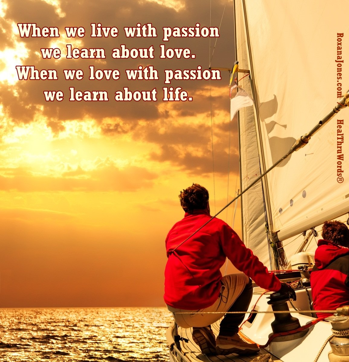 Inspirational Image: Living Passion