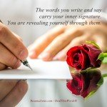 Your true Signature by Roxana Jones - Inspirational Pictures