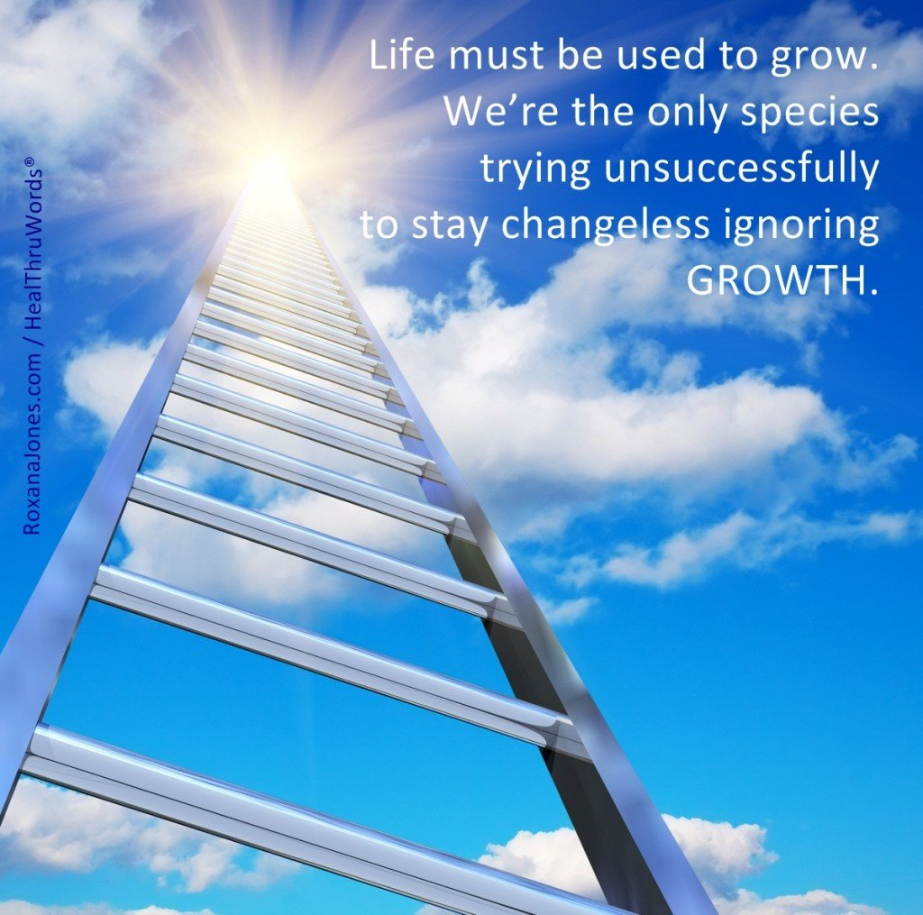 Motivational Picture - A Life of Growth