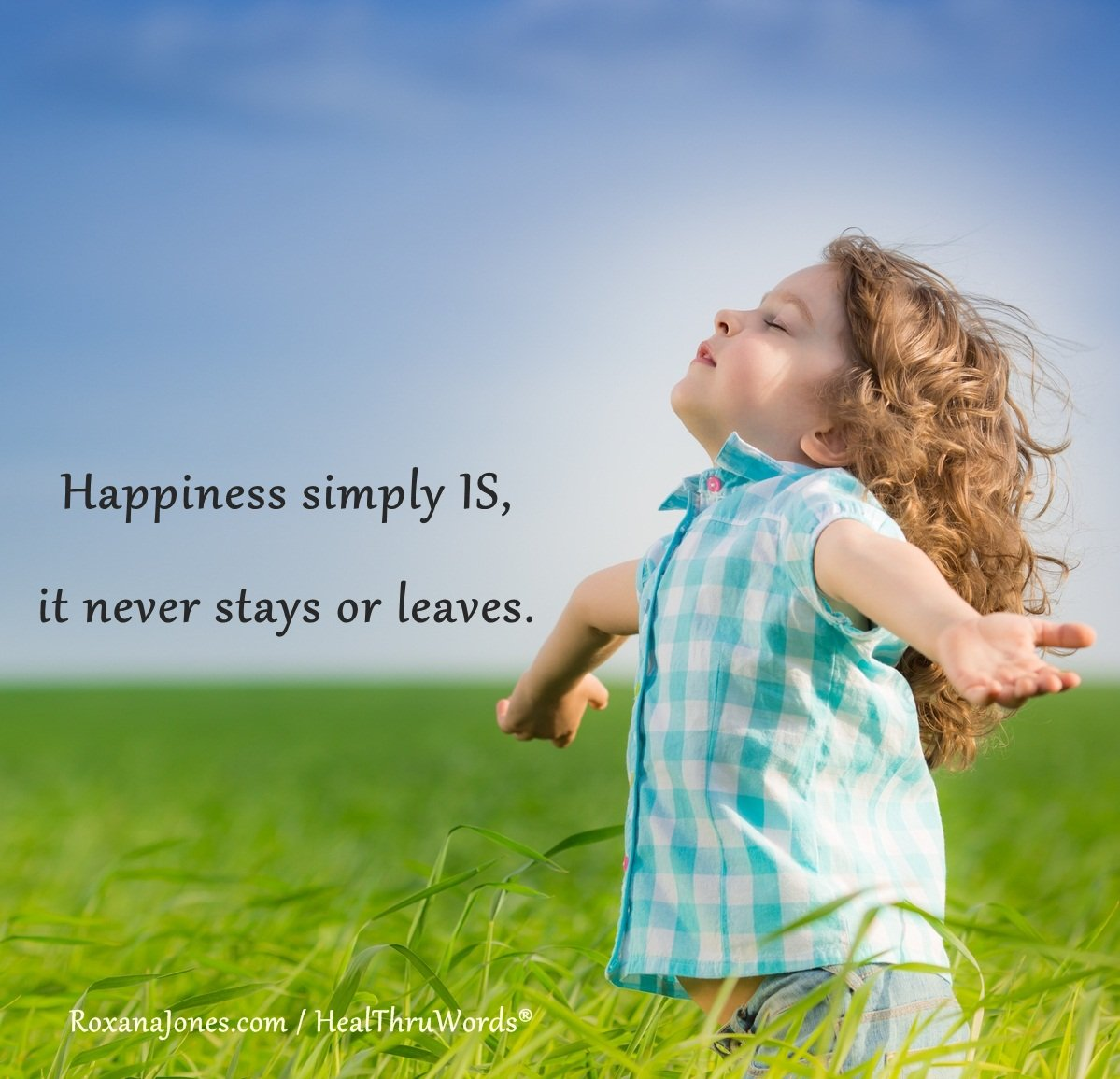 Inspirational Image: Happiness Is