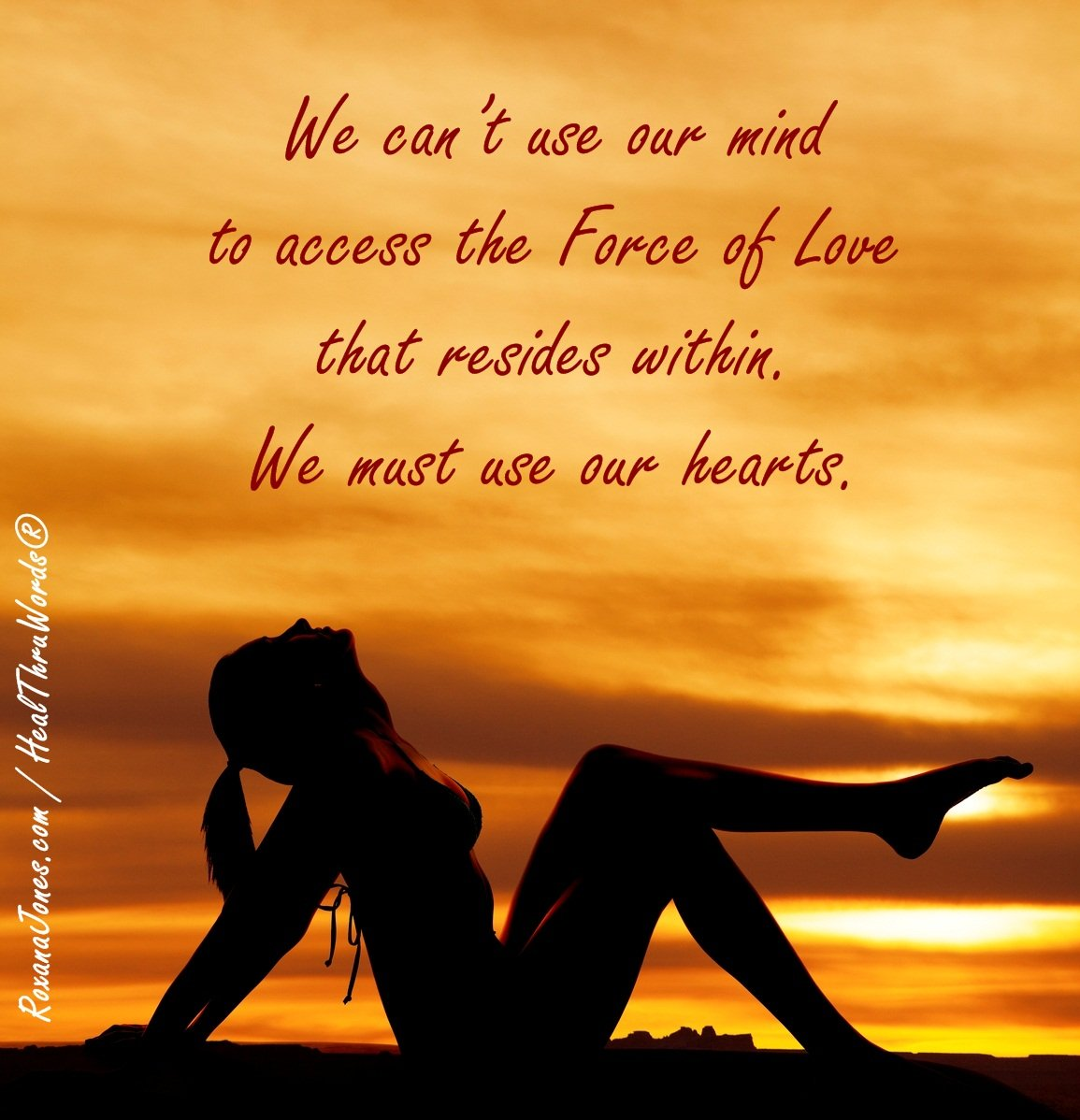 Inspirational Image: Our Force of Love