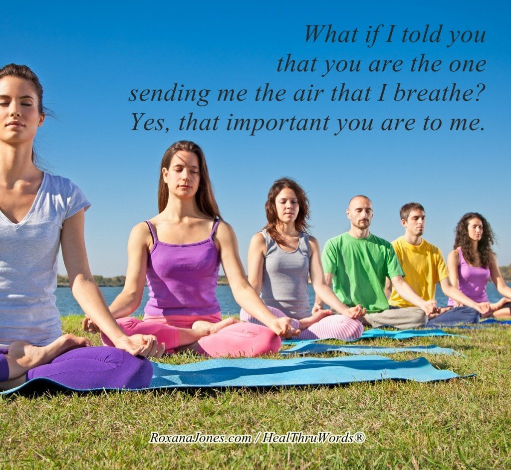 Inspirational Image - The Air that I Breathe