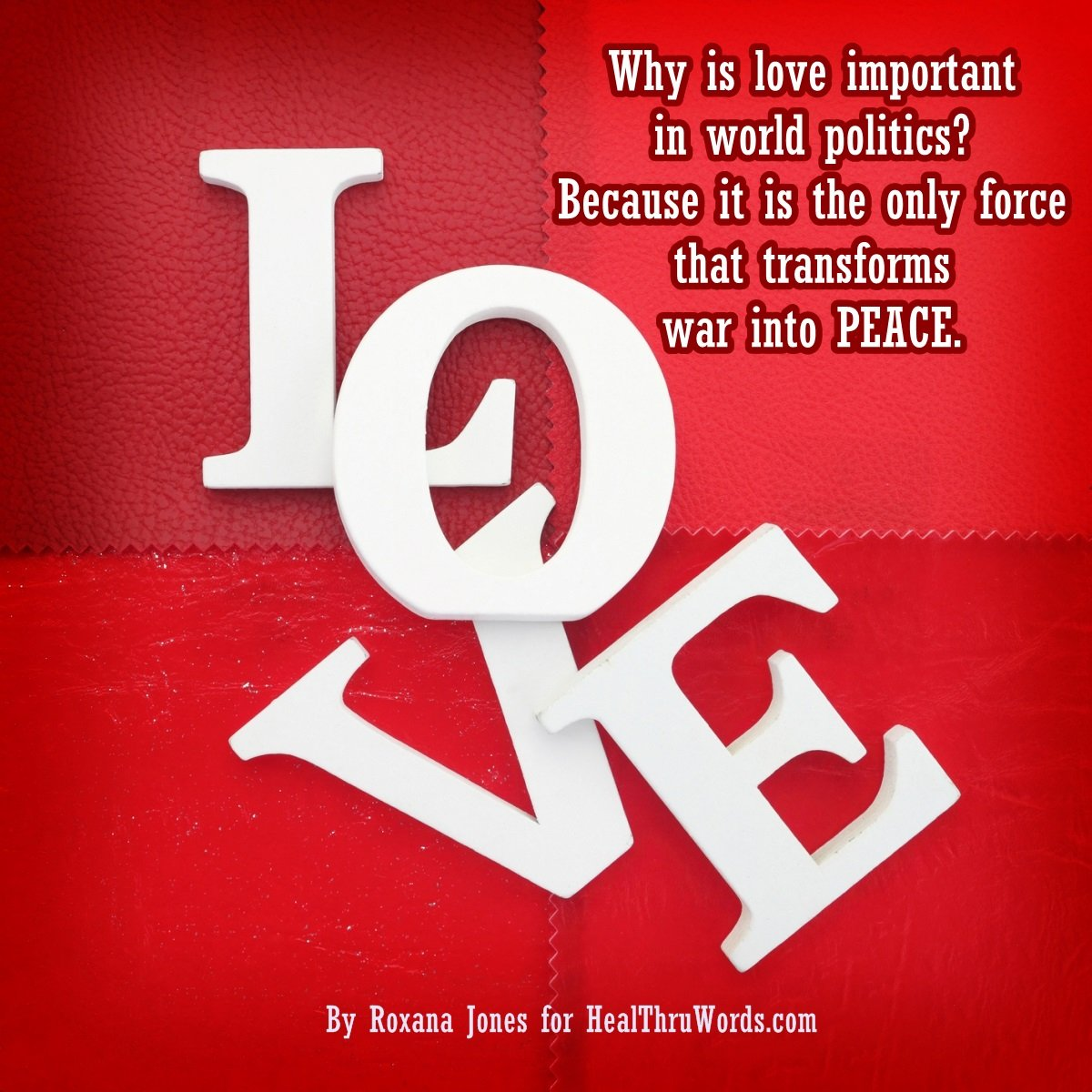 Inspirational Image: What LOVE has to do with it? Part 2
