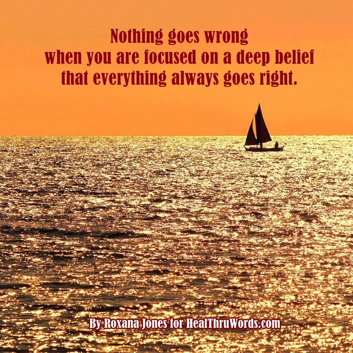 Inspirational Image: Always Right