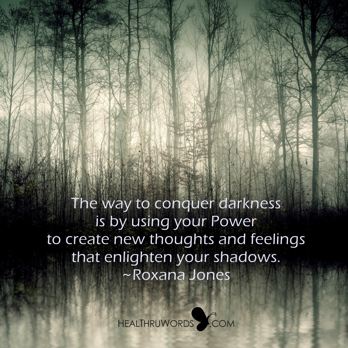 Inspirational Image: Enlighten your Shadows