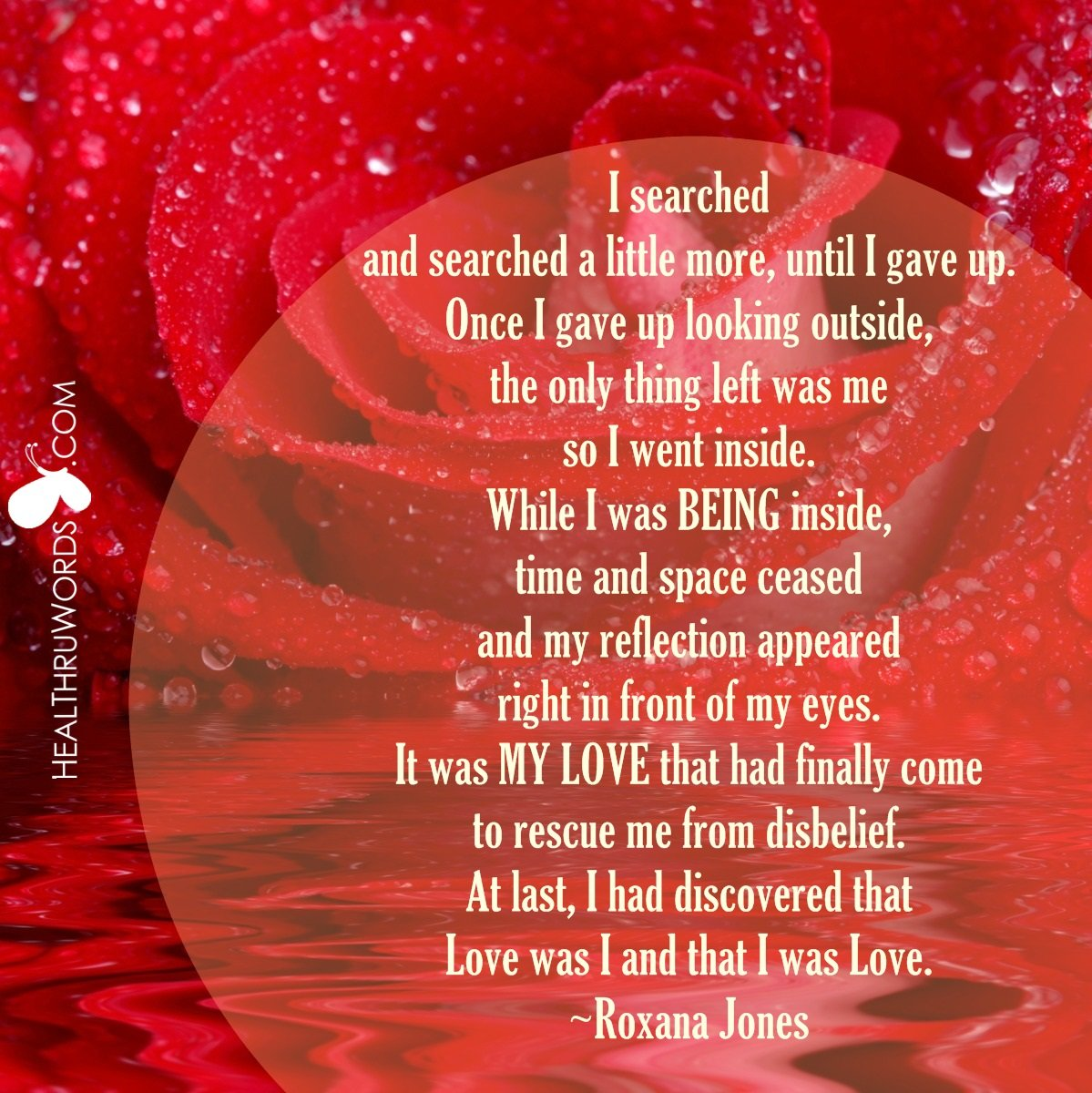 Inspirational Image: The I in Love