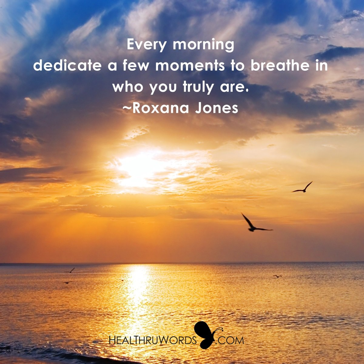Inspirational Image: Breathing The Self