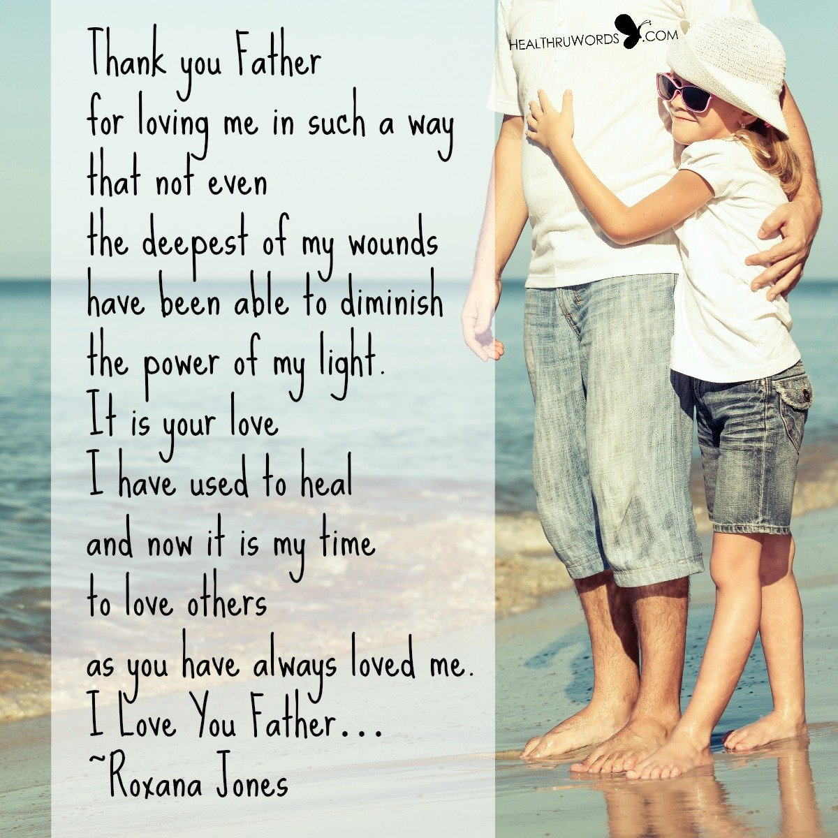 Inspirational Image: Promise to a Father