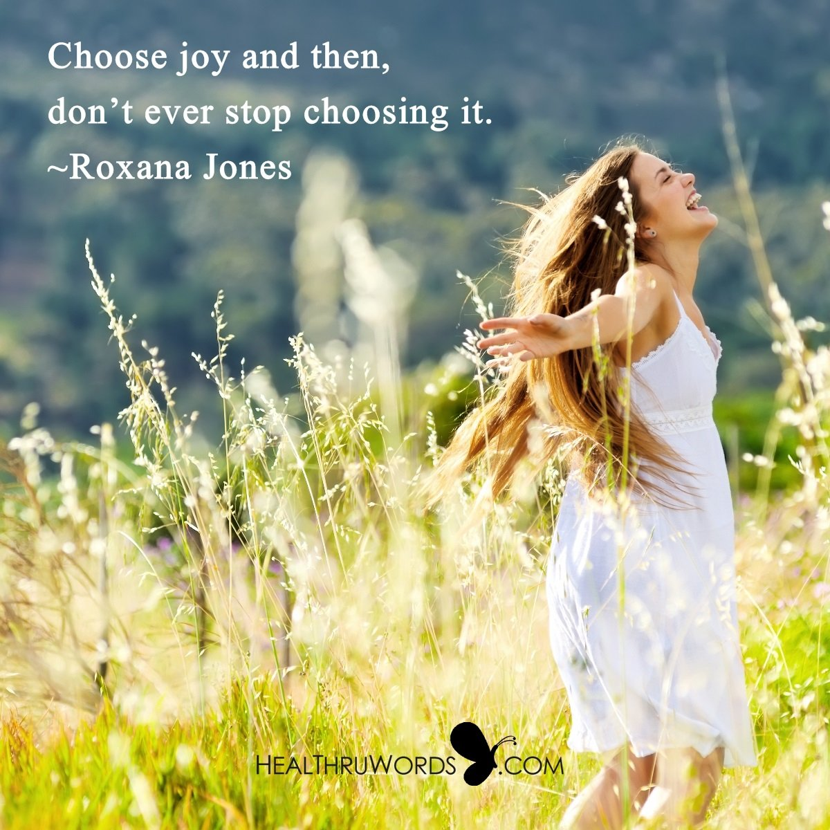 Inspirational Image: The Choice of Joy