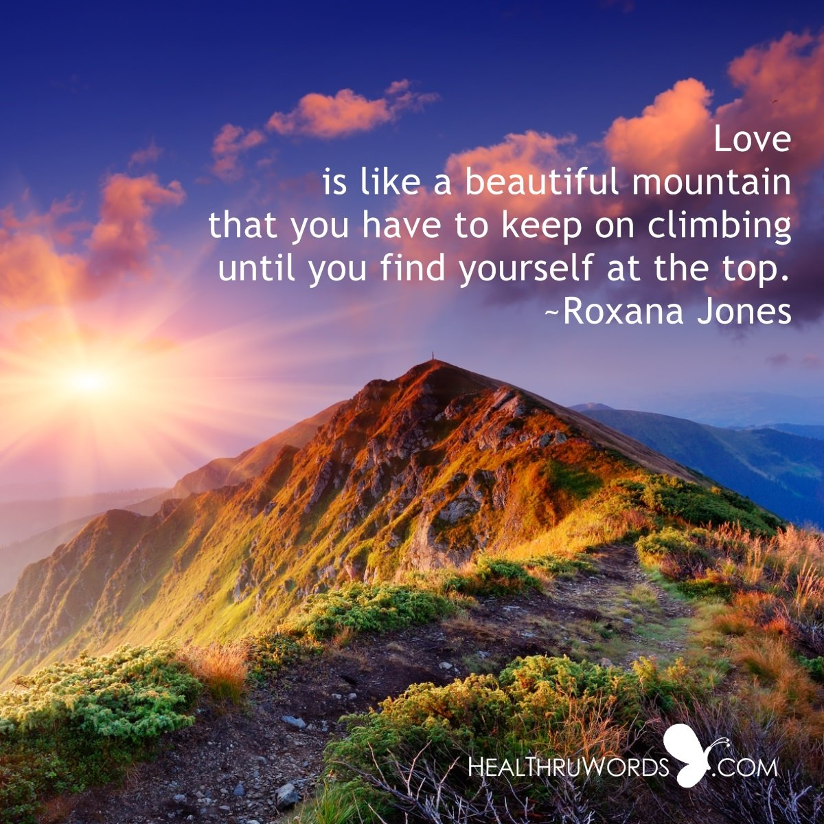 Inspirational Image: The Mountain of Love