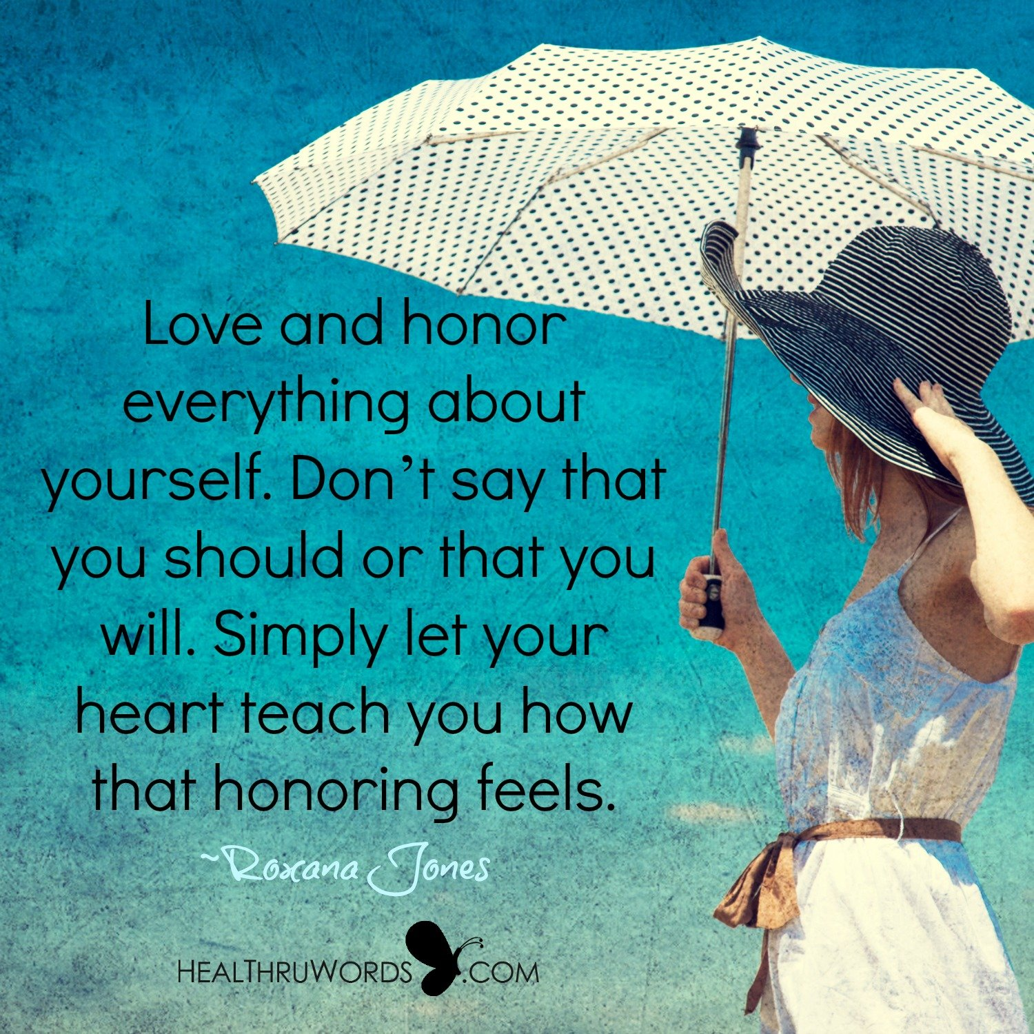 Inspirational Image: Honoring the Self