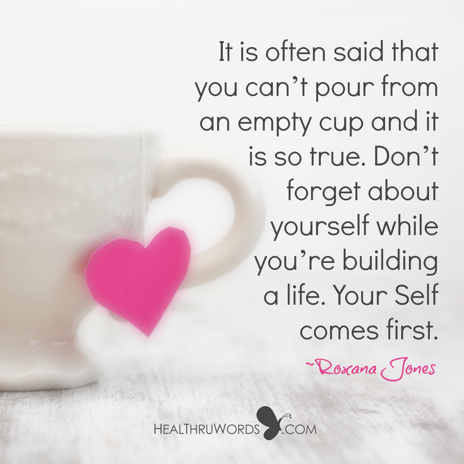Inspirational Image: First Self