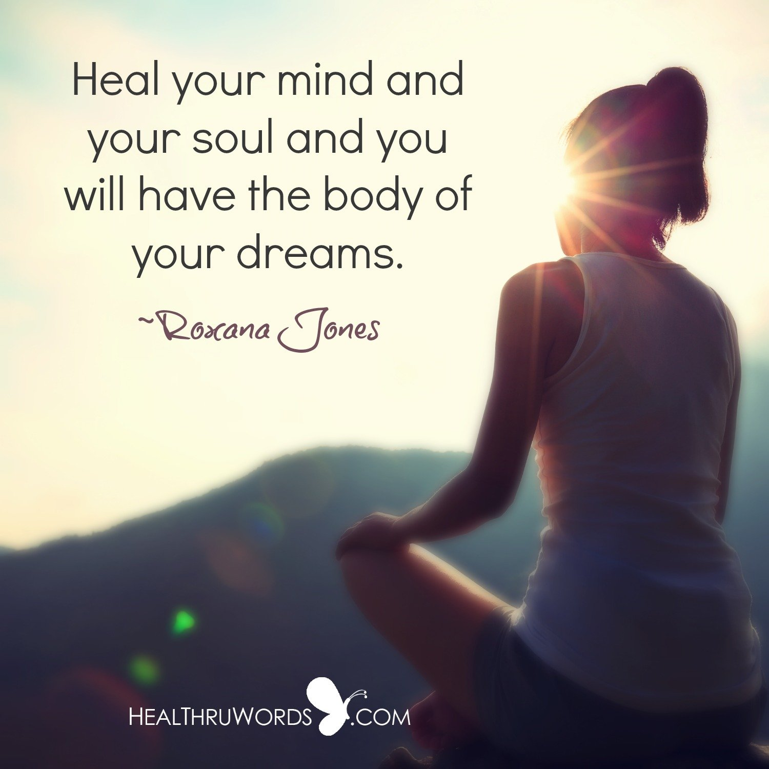 healing starts within inspirational images and quotes