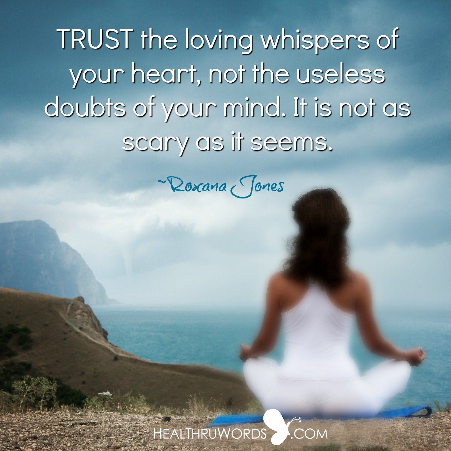 Inspirational Image: Loving Whispers