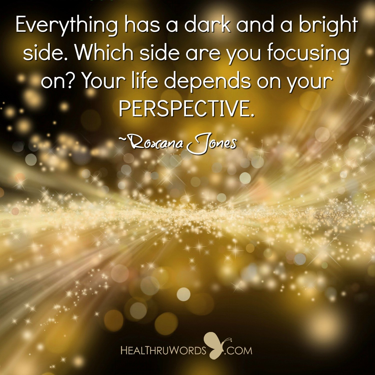 Inspirational Image: Perspective