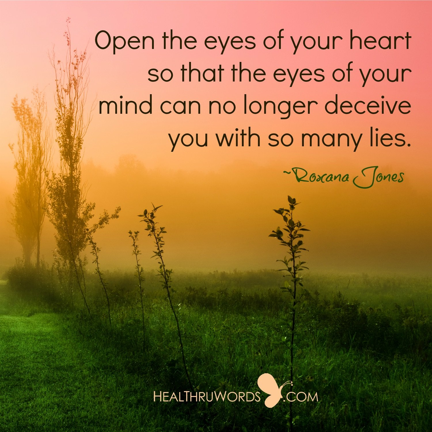 Inspirational Image: The Heart that Sees