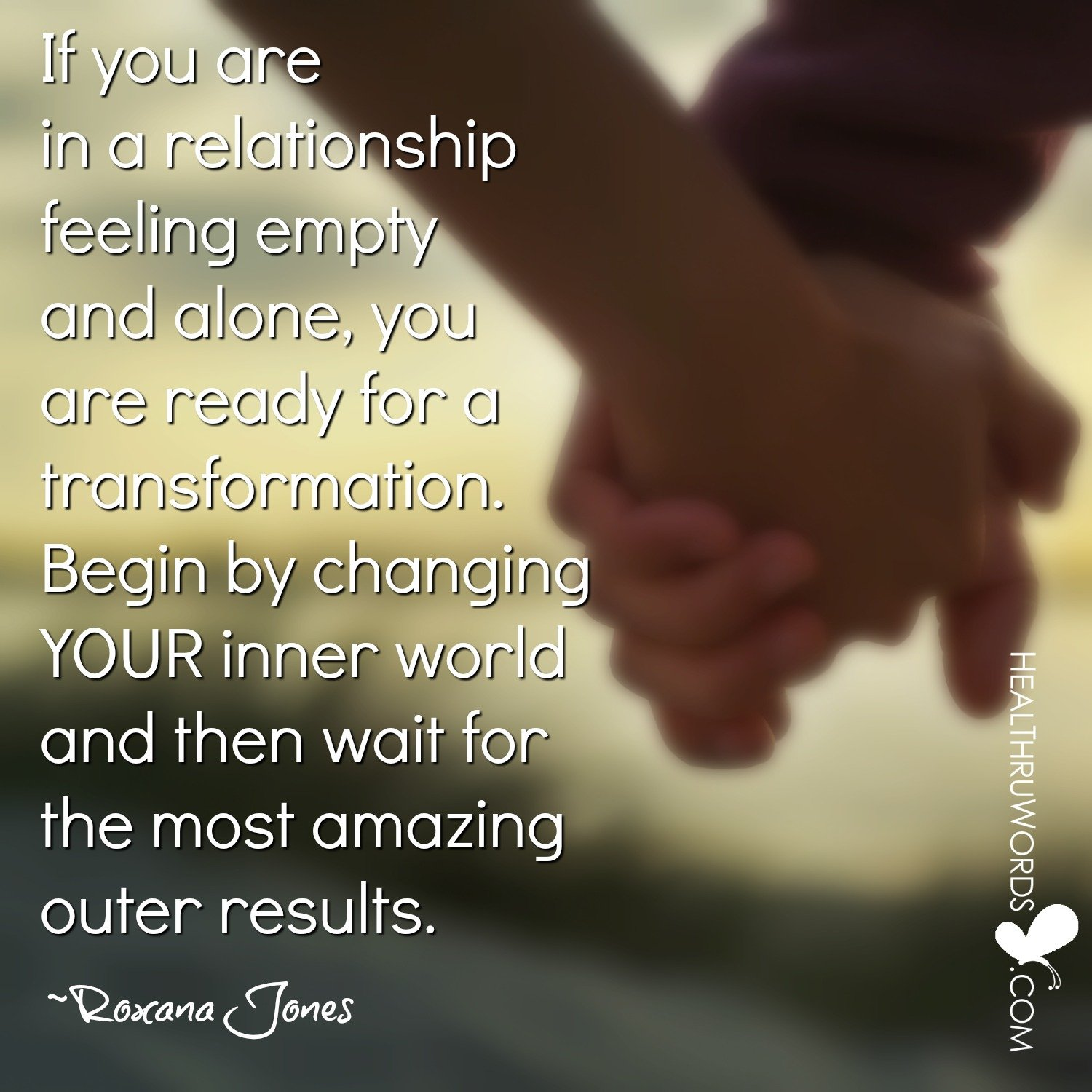 Inspirational Image: Transforming Relationships