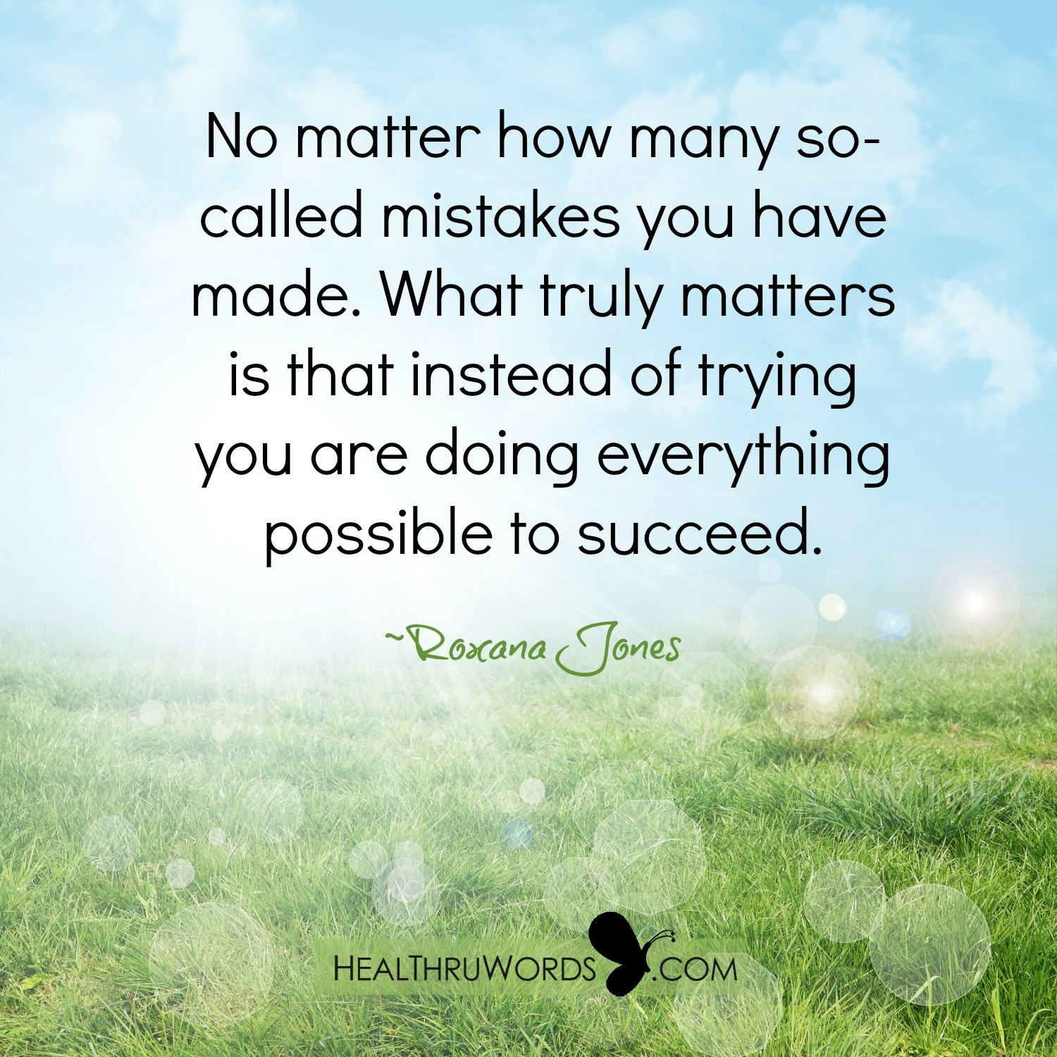 Inspirational Image: Doing not Trying
