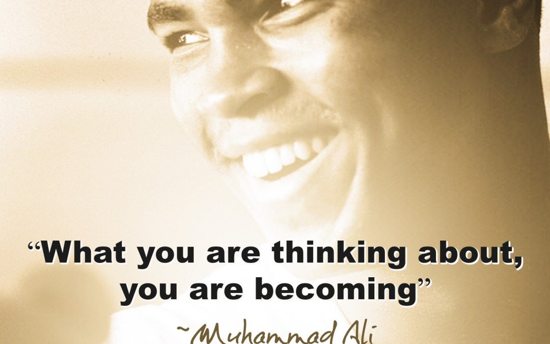 "Muhammad Ali Used Positive Words To Make The World ""GREAT""!"