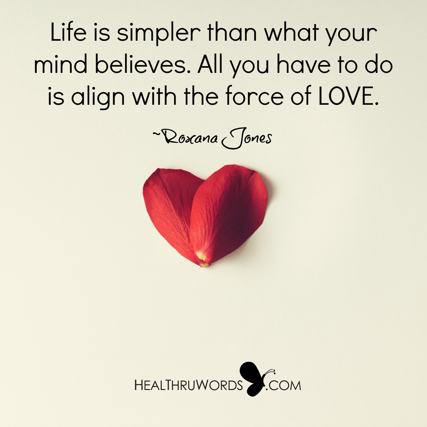 Inspirational Image: Aligning with Love