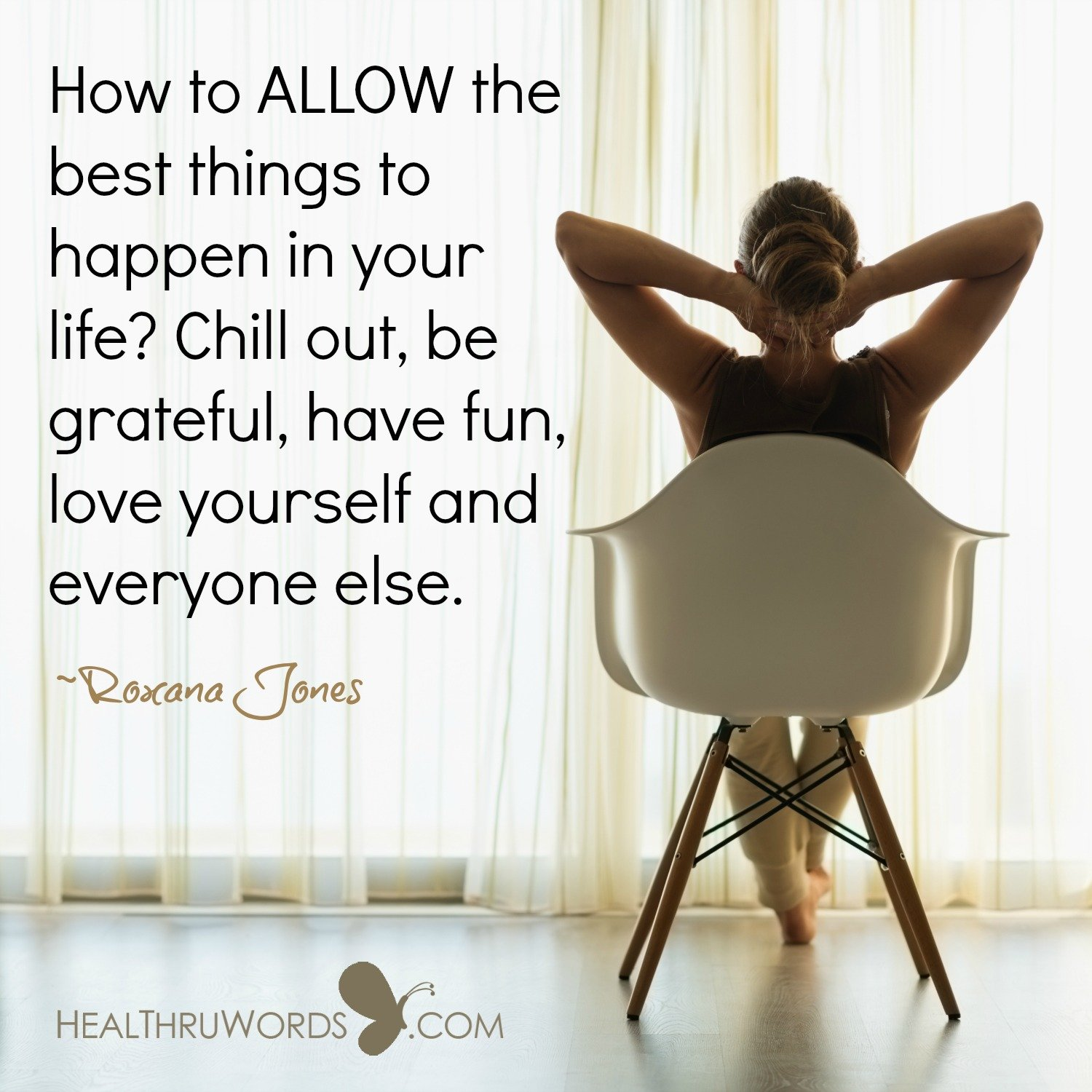 Inspirational Image: Allowing the Best